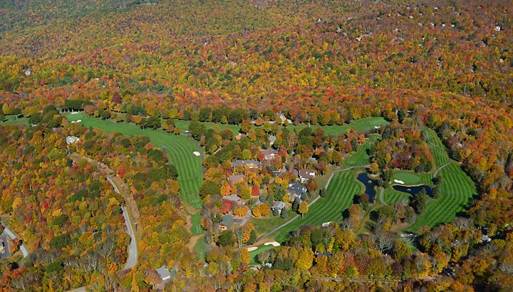 Beech Mountain in the Fall